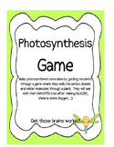 Photosynthesis Game - Carbon Oxygen Cycle - Plants