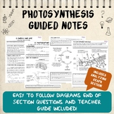 Photosynthesis Guided Notes