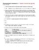 Photosynthesis Homework 2