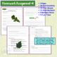 Photosynthesis Homework