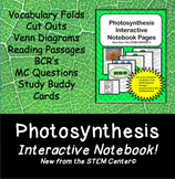 Photosynthesis Interactive Notebook - Distance Learning Friendly