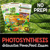 Photosynthesis Interactive PowerPoint and Guided Notes