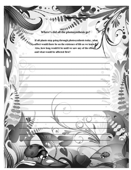 Photosynthesis Journal