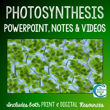 Photosynthesis PowerPoint, Notes and Videos