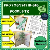 Photosynthesis Project Booklets Creative Activity Elementary or Middle School!