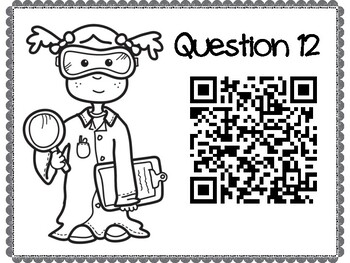 Photosynthesis & Cellular Respiration QR Code Hunt (Content Review or NB Quiz)