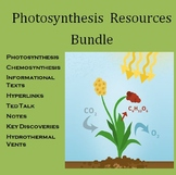 Photosynthesis Discoveries Chemosynthesis Informational Texts Ted Talk Bundle