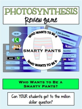 Photosynthesis Review Game