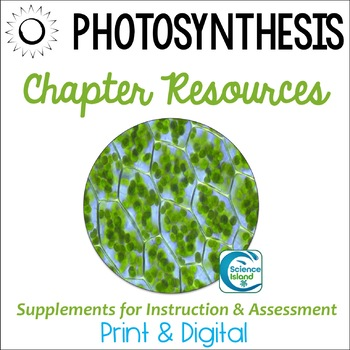 Photosynthesis Supplements for Instruction and Assessment