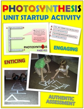 Photosynthesis: Unit Startup Activity