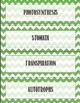 Photosynthesis Vocabulary Bundle