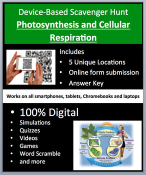 Photosynthesis and Cellular Respiration – Device-Based Sca