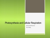 Photosynthesis and Cellular Respiration Power Point