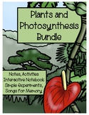 Photosynthesis and Plants BUNDLE (ADVANCED, ESOL, SPED for EVERY LEARNER)