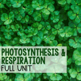 Photosynthesis and Respiration - BUNDLE