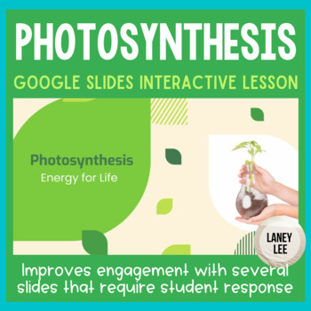 Photosynthesis and Respiration - Presentation and Student Notes
