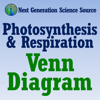 FREE Photosynthesis and Respiration Venn Diagram NGSS MS-LS2-3