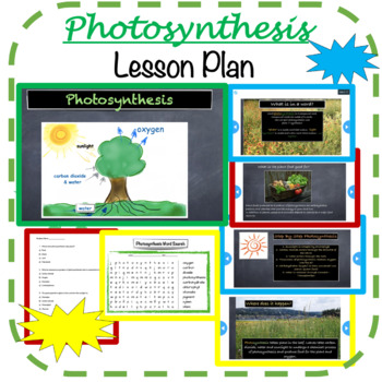 Photosynthesis - lesson
