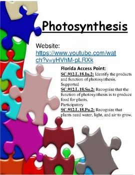 Photosynthesis - Smart Learning for All