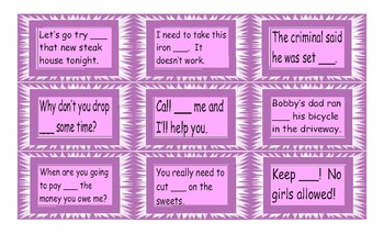 Phrasal Verb Cards 1