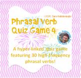 Phrasal Verb Quiz Game 4