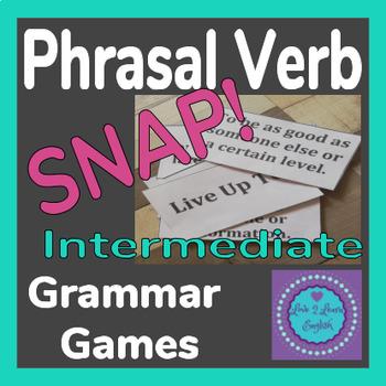 Phrasal Verb SNAP Game- Intermediate B1