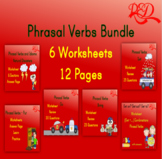 Phrasal Verbs Worksheets Printable Bundle Free Preview