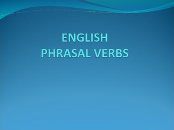 Phrasal Verbs PPT