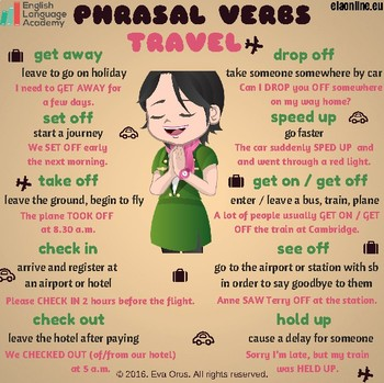 Phrasal Verbs - Travel