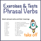 Phrasal Verbs Worksheets, Exercises and Tests