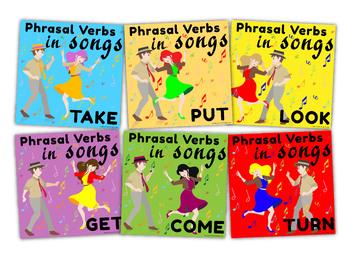 Phrasal Verbs in Songs Bundle
