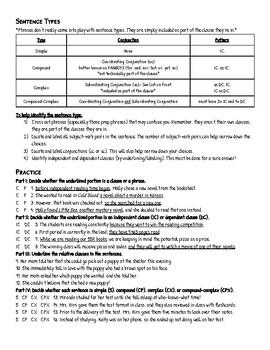 Phrase Clause Notes