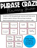 Phrase Craze! Fluency, Vocabulary, Expression Center