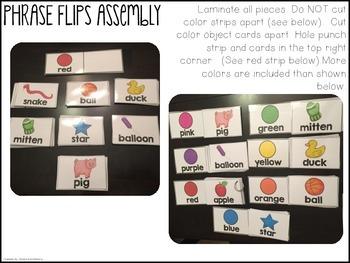 Phrase Flips {Color + Object}