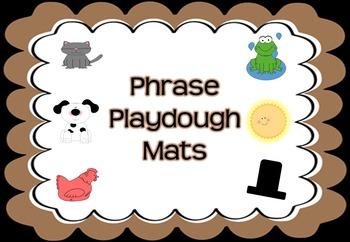 Phrase Playdough Mats