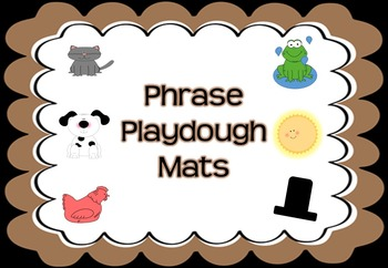 Phrase Playdough Mats