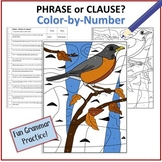 Phrase or Clause?  Color-by-Number Robin