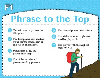 Phrase to the Top (Common Core RF 1.4A, RF 2.4A)