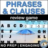 Phrase vs. Clause Bomb Game