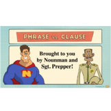 Phrase vs. Clause and Types of Sentences and Escape Room Activity