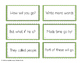 Reading Fluency Practice: 1st 100 Fry Words: Flash cards,