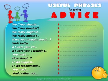 Phrases - Giving Advice