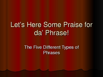 Phrases Power Point Lecture