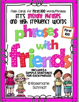 Phrases With Friends K-3