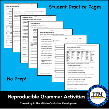 Understanding Phrases and Clauses: A Middle School Grammar Resource