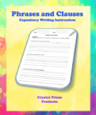 Phrases and Clauses (Hochman Method Aligned Resource for Elementary School)