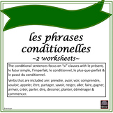 """Phrases conditionnelles – Conditional sentences – """"Si"""" Clauses exercises #2"""