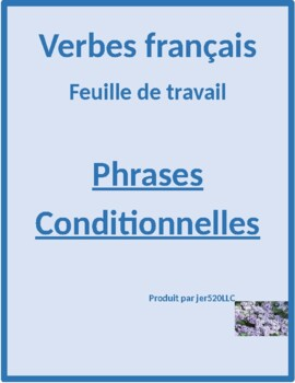 Phrases conditionnelles worksheet 3