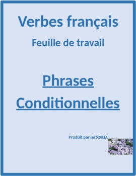 Phrases conditionnelles worksheet 4