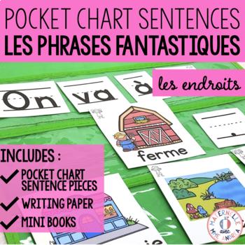 Phrases fantastiques - On y va! (FRENCH Pocket Chart Sentences)